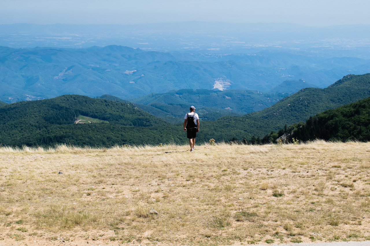 Hiking in Montseny Park